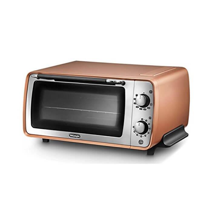 ディスティンタコレクションオーブン&トースター (コッパー) EOI407J-CP 《 オーブン トースター デロンギ 》