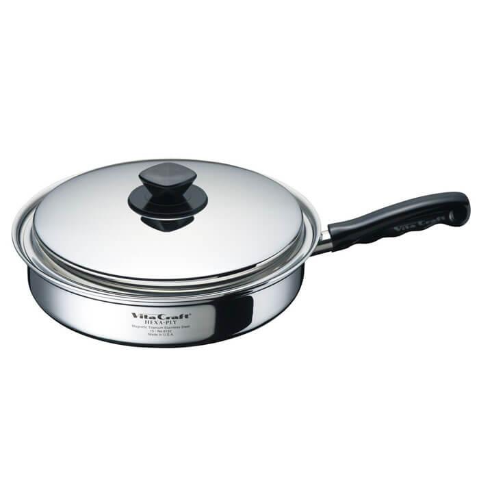 ヘキサプライ ビタクラフト フライパン27cm 6132 《 vitacraft 調理器具 キッチン ステンレス 》