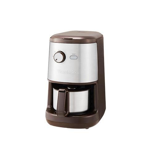 ビタントニオ 全自動コーヒーメーカー ( ブラウン) VCD-200-B《 Vitantonio コーヒーメーカー キッチン家電 》