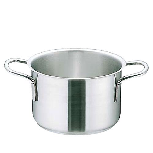 Murano/ムラノ インダクション18-8 半寸胴鍋(蓋無)23.0リットル(AHV-A3) ( キッチンブランチ )