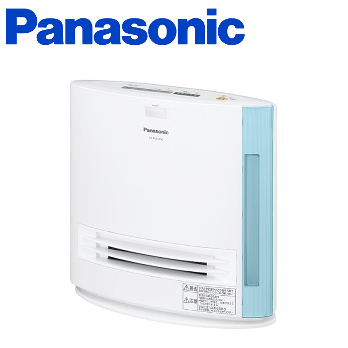 パナソニック セラミックファンヒーター ( DS-FKS1204-A ) 【 Panasonic コンパクトセラミックファンヒーター 加湿タイプ 暖房器具 】( キッチンブランチ )