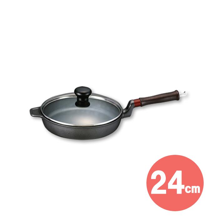 味わい鍋 フライパン(24cm) 【 文化軽金属鋳造 】 ( キッチンブランチ )