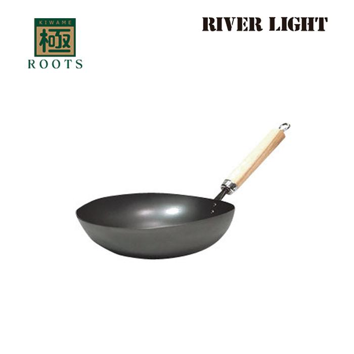 【送料無料】リバーライト 極 ルーツ I H アジア鍋 ( RS1930A ) 【 RIVER LIGHT ROOTS 】( キッチンブランチ )