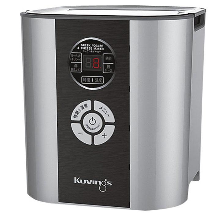クビンス ヨーグルト&チーズメーカー KGY-713SM【Kuvings 発酵食品 レシピブック付】( キッチンブランチ )