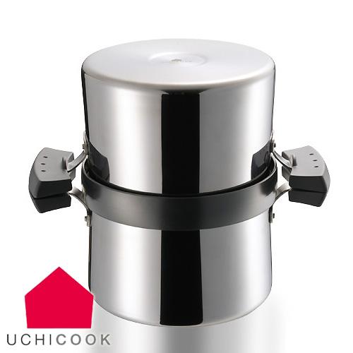 【送料無料】UCHICOOK/ウチクック クイックフライヤー 【AUX/オークス/フィルター/オイルポット/QUICK FRYER/てんぷら鍋】(UCS2)<ブラック>( キッチンブランチ )