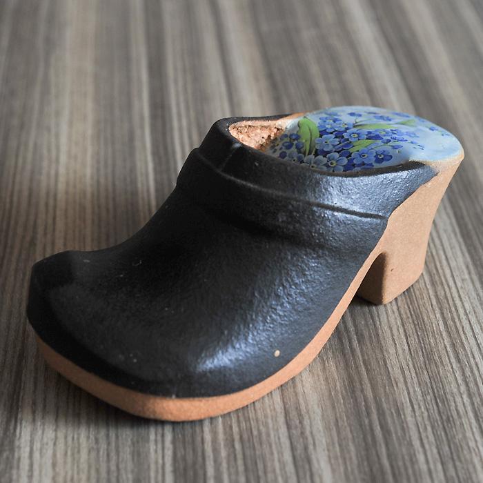 【アンティーク Gustavsberg グスタフスベリ】Gustavsberg/グスタフスベリ 靴の置物 《ビンテージ/vintage/ヴィンテージ》( キッチンブランチ )