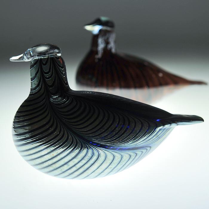 【アンティーク iittala イッタラ】iittala/イッタラ Birds by Oiva Toikka バード バイ オイバ・トイッカ 《ビンテージ/vintage/ヴィンテージ》<Bird Small>( キッチンブランチ )