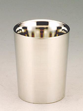 【送料無料】大阪錫器 上燗コップ 一杯七勺<126mL>( キッチンブランチ )