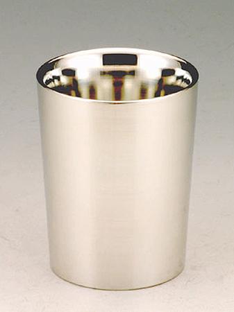 【送料無料】大阪錫器 上燗コップ 一杯八勺<144mL>( キッチンブランチ )