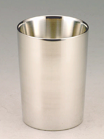 【送料無料】大阪錫器 上燗コップ 一杯一合<180mL>( キッチンブランチ )