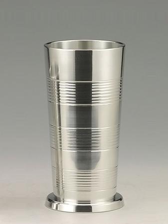 【送料無料】大阪錫器 タンブラー ビールコップ (小) 【桐箱入り】<150mL>( キッチンブランチ )