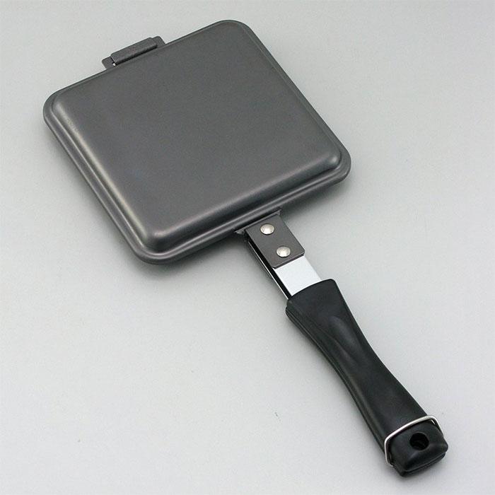 送料無料 日本産 ランキングTOP5 下村企販 窒化加工 鉄製トースターパン ホットサンドメーカー 35620