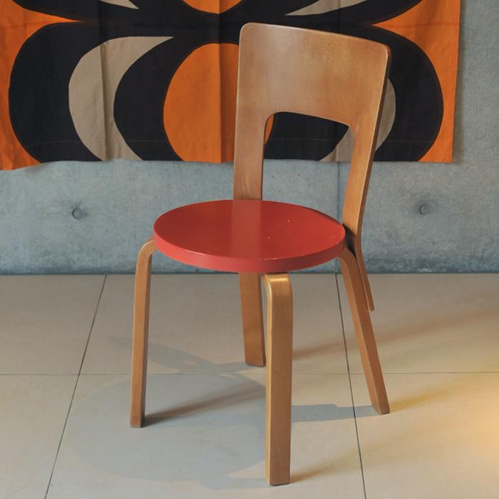 【 アンティーク 】 アルテック チェア 66 《 ビンテージ vintage ヴィンテージ 》 【 artek chair イス 椅子 チェアー キッチンブランチ 】【海外直輸入USED品】