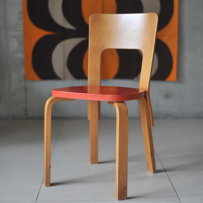 【 アンティーク 】 アルテック チェア 66 《 ビンテージ vintage ヴィンテージ 》 【 artek chair イス 椅子 チェアー キッチンブランチ 】