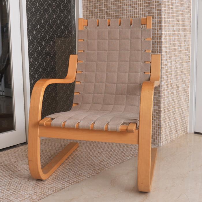 【 アンティーク 】アルテック アームチェア 406 《 ビンテージ vintage ヴィンテージ 》 【 artek イス 椅子 】( キッチンブランチ )