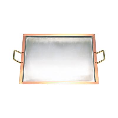 工房アイザワ 純銅製 カッパープレート 角 (70073)( キッチンブランチ )