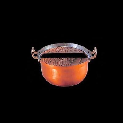 工房アイザワ 純銅鎚目文 段付両手鍋 15cm (41)( キッチンブランチ )