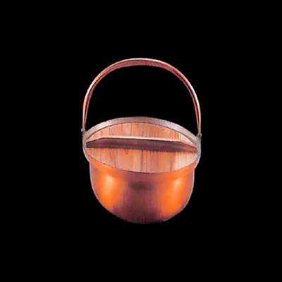 工房アイザワ 純銅鎚目文 ツル付田舎鍋 18cm (54)( キッチンブランチ )