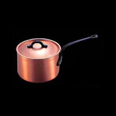 工房アイザワ 純銅製品 男の台所 グループ80ポテト ポテト・ソースパン 15cm (8000-2)( キッチンブランチ )