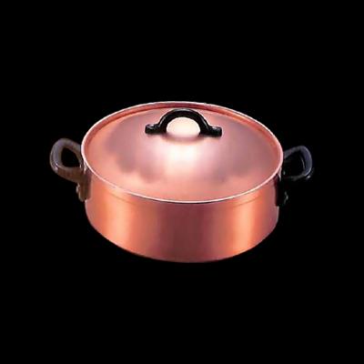 工房アイザワ 純銅製品 男の台所 グループ80ポテト ポテト・ソトワール 24cm (8000-4)( キッチンブランチ )