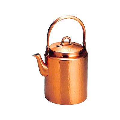 工房アイザワ 純銅茶器 純銅鎚目文 水差りきゅう 1.5L (72)( キッチンブランチ )