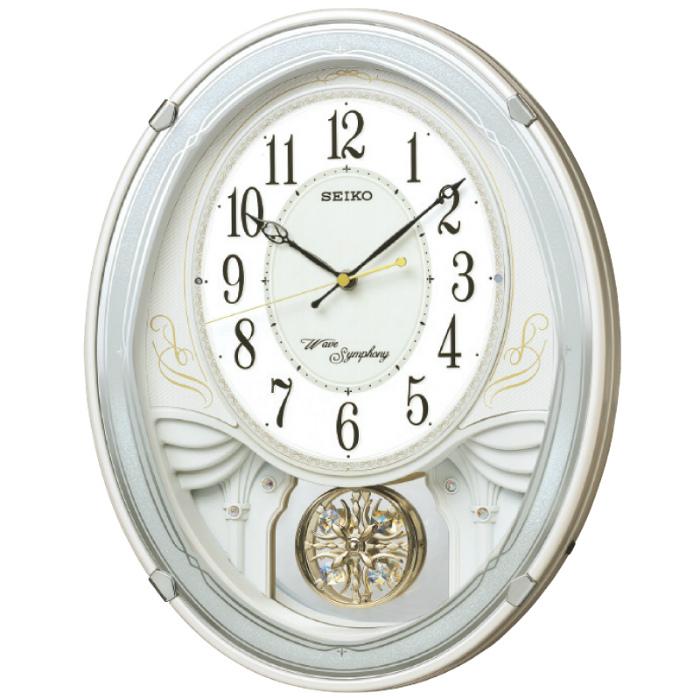 セイコー 電波メロディ掛時計 AM258W( キッチンブランチ )