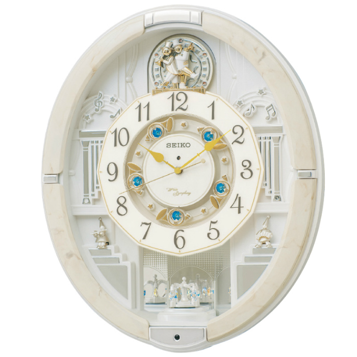 セイコー 電波からくり掛時計 RE576A( キッチンブランチ )