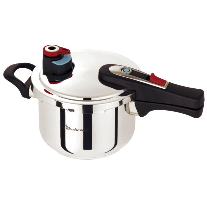 ワンダーシェフ エリユム 片手圧力鍋 3l( キッチンブランチ )