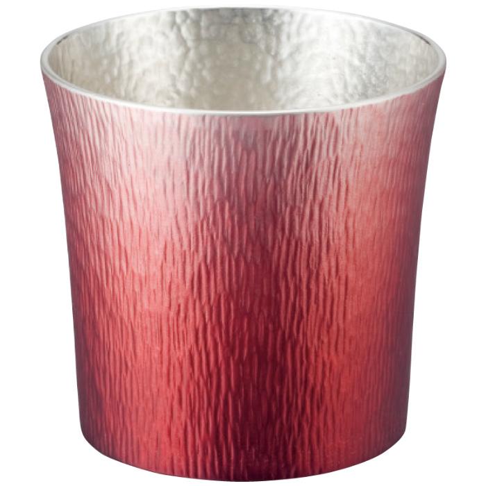 大阪錫器 錫製タンブラー 310ml 24-2-1RD(赤(HOKAGE))( キッチンブランチ )