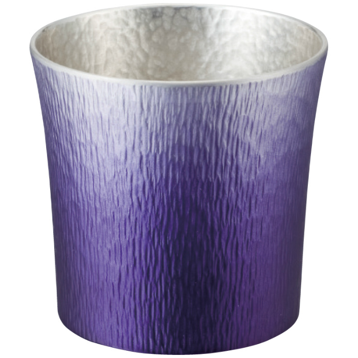 大阪錫器 錫製タンブラー 310ml 24-2-1PR(紫(SHINRA))( キッチンブランチ )