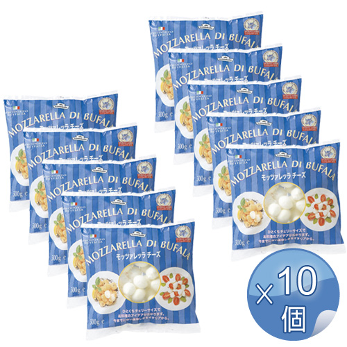 モンテベッロ 冷凍モッツァレッラ・ブファラ・チェリーサイズ 500g <10袋セット> 【冷凍便でお届け】 【 ※ご注文後のキャンセル・返品・交換不可。 】