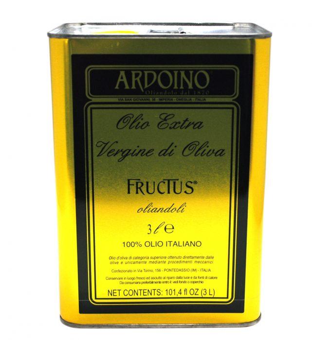 国内正規品 アルドイノ エクストラヴァージン オリーブオイル フルクトゥス 3L エキストラオリーブオイル 交換不可 OLIVEOIL 返品 在庫一掃 ARDOINO ※ご注文後のキャンセル