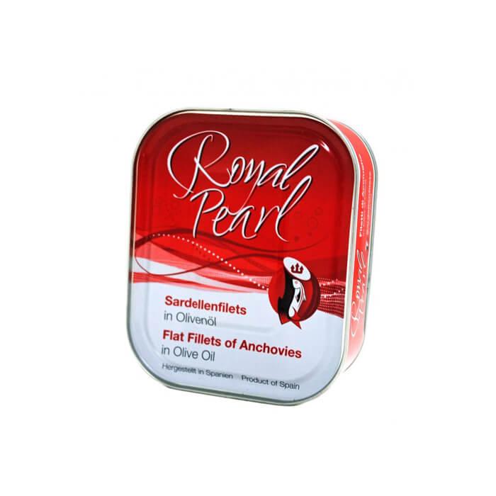 ROYAL PEARL ( ロイヤルパール )アンチョビフィレ オイル漬 缶 385g 【冷蔵便でお届け】【常温商品と同梱不可】【 ※ご注文後のキャンセル・返品・交換不可。 】