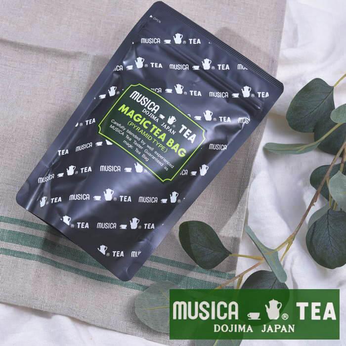 超激安 MUSICA TEA ムジカティー 卓越 MAGIC BAG マジックティーバッグ BLEND 20個入り ムジカ紅茶 堂島D 交換不可 返品 《 キャンセル 紅茶 キッチンブランチ 》