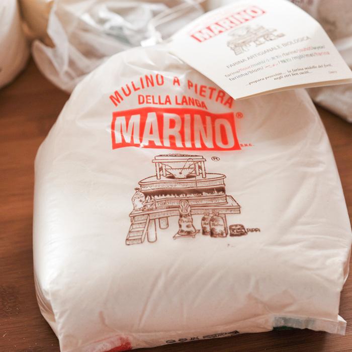 【当店おすすめ食材】ムリーノ マリーノ 石臼挽き 小麦粉 【MULINO MARINO/ピエモンテ産】 《food》(00)<1kg> 【 ※ご注文後のキャンセル・返品・交換不可。 】