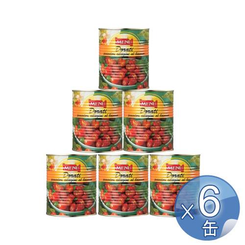 【箱入りセットでお買い得】Menu/メニュー社 セミドライチェリートマト・オイル漬け 800g <6缶セット> 【 ※ご注文後のキャンセル・返品・交換不可。 】