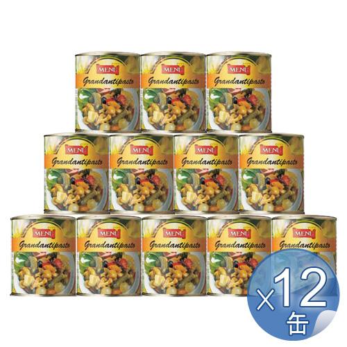 【箱入りセットでお買い得】Menu/メニュー社 グランドアンティパスト 830g <12缶セット> 【 ※ご注文後のキャンセル・返品・交換不可。 】