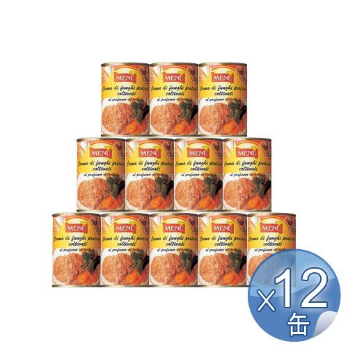 【箱入りセットでお買い得】Menu/メニュー社 キノコペースト・トリュフ風味 400g <12缶セット> 【 ※ご注文後のキャンセル・返品・交換不可。 】