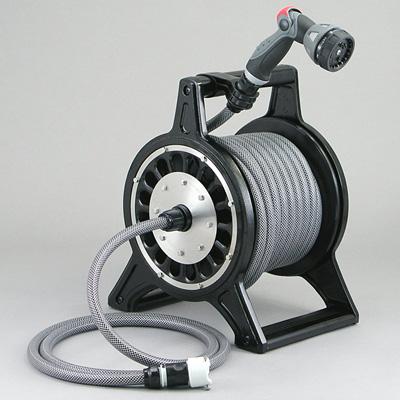 三洋化成 ブロッサリール 特殊耐圧防藻ホース20m巻 ブラック( キッチンブランチ )