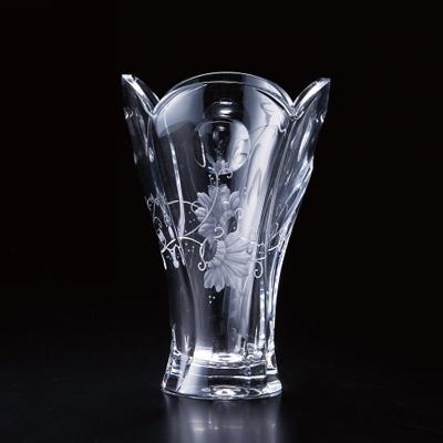 エルベクリスタル ジュリア 花瓶(JUL/3659/24)( キッチンブランチ )