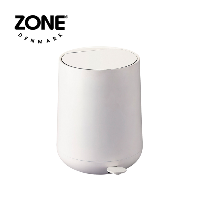 ZONE NOVA ONE ペダルビン 352047 ホワイト 【 ダストボックス ゴミ箱 ゾーン ノヴァ デンマーク 北欧デザイン 】( キッチンブランチ )