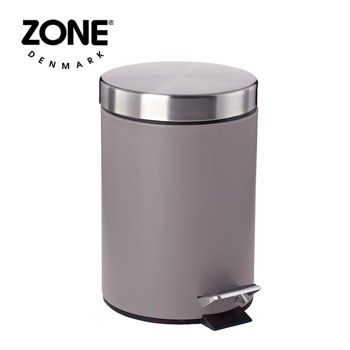 ZONE SOFTペダルビン 861416 グレー 【 ダストボックス ゴミ箱 ゾーン デンマーク 北欧デザイン 】( キッチンブランチ )