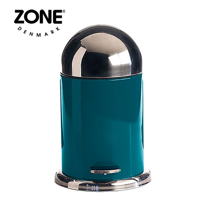 ZONE ペダルビン 251018 ぺトロールグリー 【 ダストボックス ゴミ箱 ゾーン デンマーク 北欧デザイン 】( キッチンブランチ )
