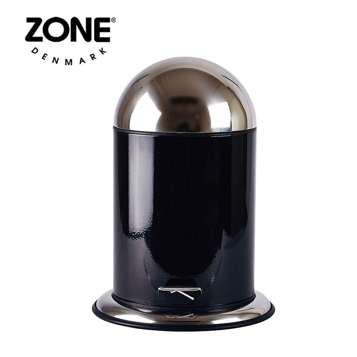 ZONE ペダルビン5L 252551 ブラック 【 ダストボックス ゴミ箱 ゾーン デンマーク 北欧デザイン 】( キッチンブランチ )