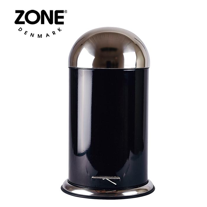 ZONE ペダルビン12L 252552 ブラック 【 ダストボックス ゴミ箱 ゾーン デンマーク 北欧デザイン 】( キッチンブランチ )