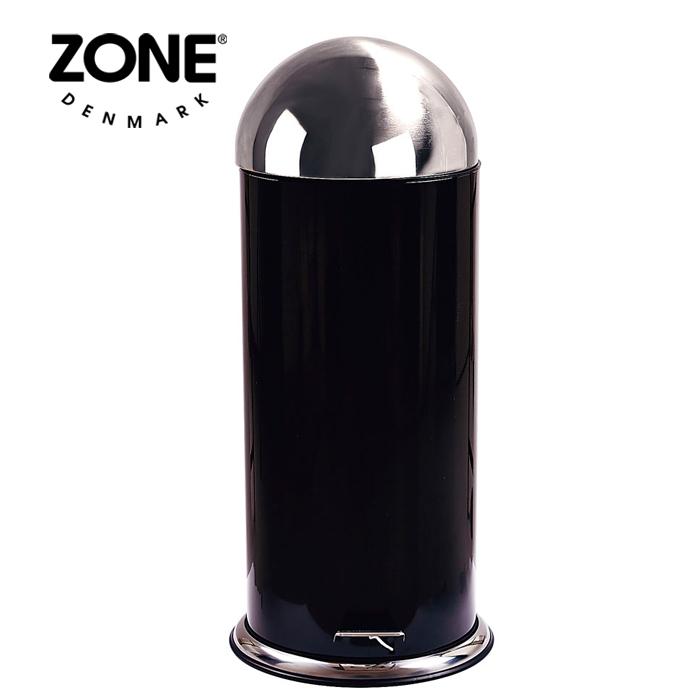 ZONE ペダルビン30L 261131 ブラック 【 ダストボックス ゴミ箱 ゾーン デンマーク 北欧デザイン 】( キッチンブランチ )
