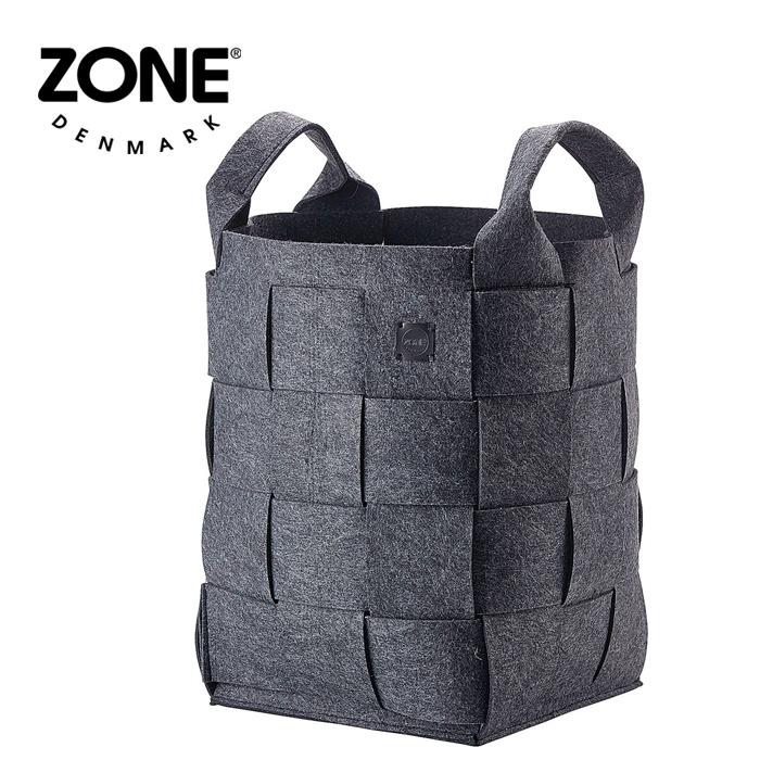 ZONE ランドリーバスケット 352068 ダークグレー 【 デンマーク ゾーン 北欧デザイン 】( キッチンブランチ )