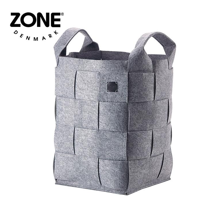 ZONE ランドリーバスケット 352069 グレー 【 デンマーク ゾーン 北欧デザイン 】( キッチンブランチ )