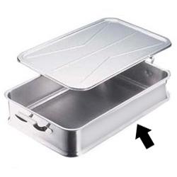 エコクリーン IKD18-8 給食バット 手付<手付>( キッチンブランチ )