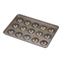 シリコン加工 わん型 天板 80高型(15ヶ取)<15ヶ取>( キッチンブランチ )